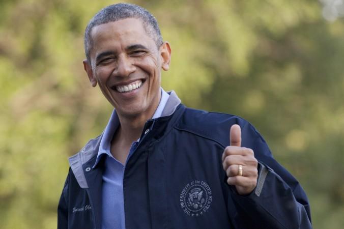 obama thumb