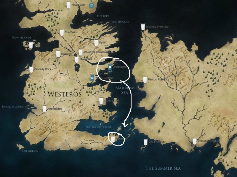 Game Of Thrones Interactive Map